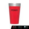 Stanley Adventure Vacuum Insulated Stacking Pint 16 oz / 473 ml - Flannel Red