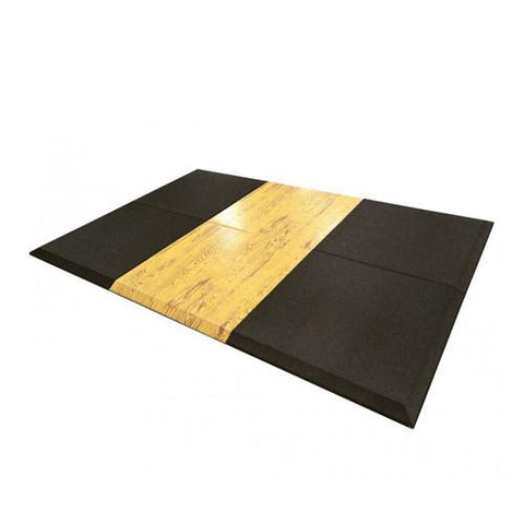 Versafit Ultimate Rubber Platform Wood Series