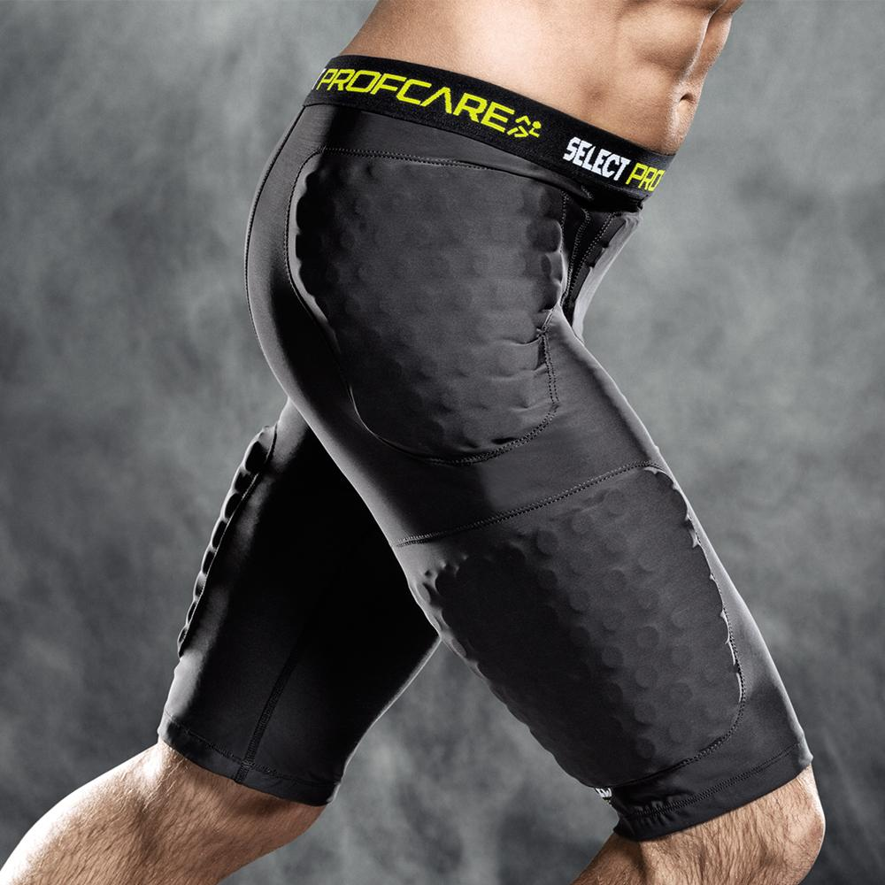 Select Compression Shorts with Pads 6421