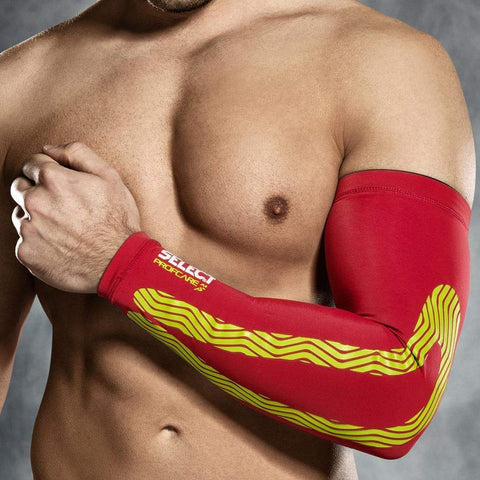Select Support - Compression Arm Sleeves 6610 Red