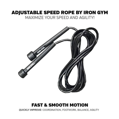 Iron Gym - Adjustable Speed Rope