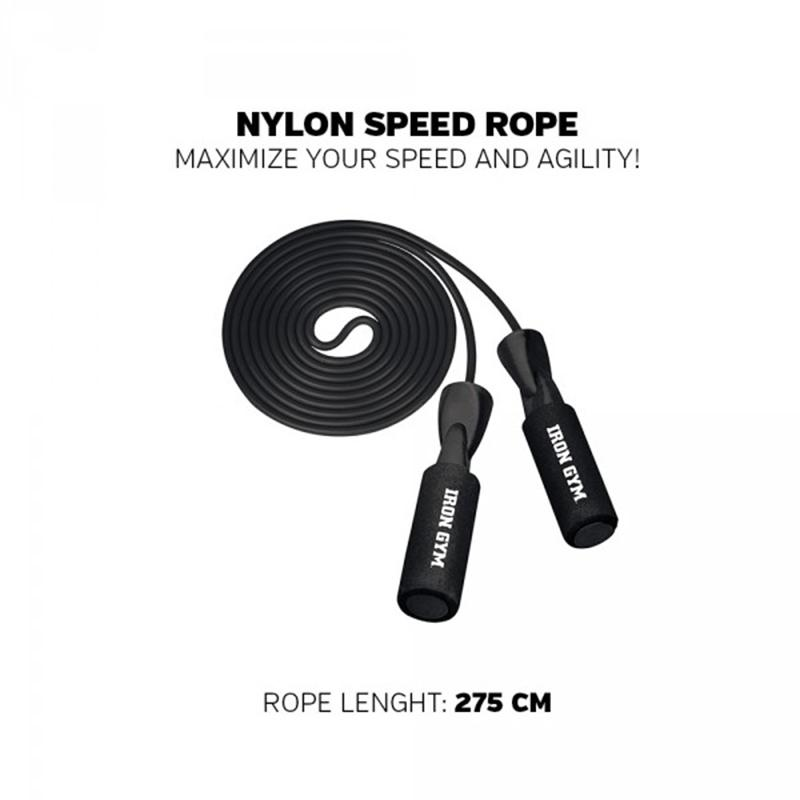 Iron Gym - Nylon Speed Rope