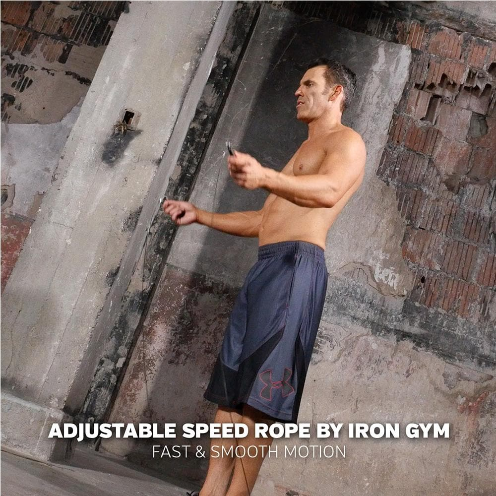 Iron Gym - Adjustable Speed Rope - Jump Rope