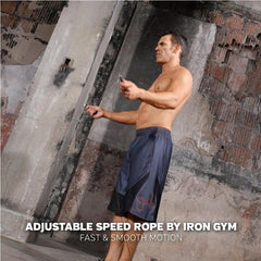Iron Gym® - Adjustable Speed Rope