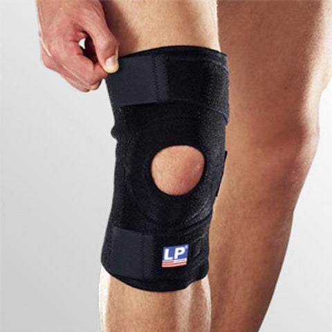 LP 758 Open Patella Knee Support - Black