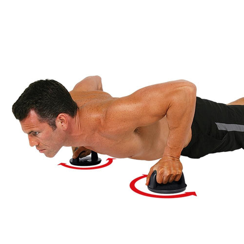 Iron Gym - Push Up Pro - Rotating Push Up Grips