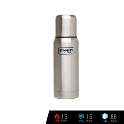 Stanley Adventure Vacuum Bottle 500mL / 17oz - Stainless Steel