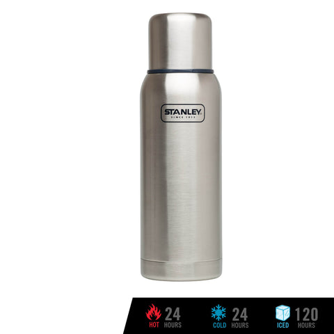 Stanley Adventure Vacuum Bottle 1.0L - Stainless Steel