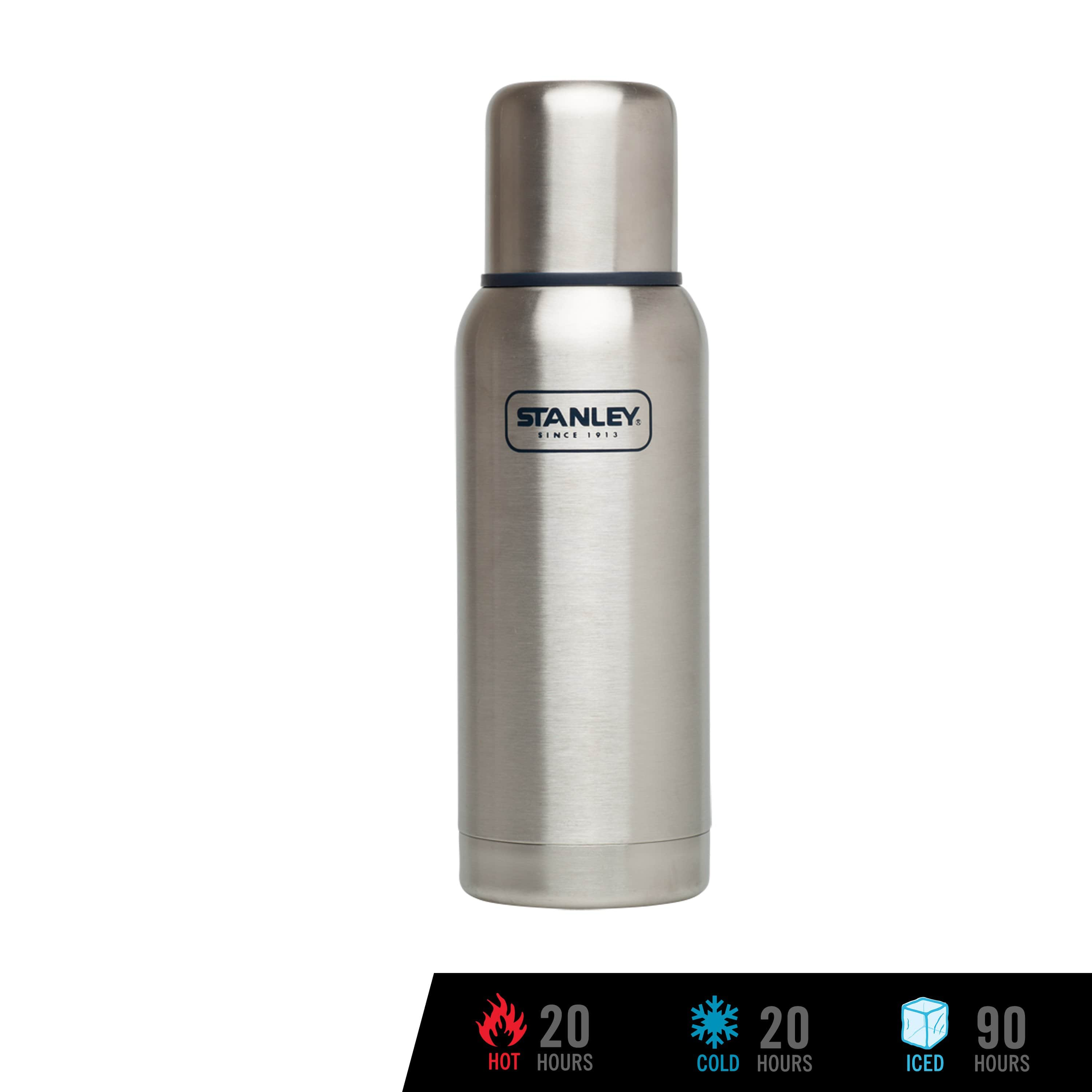 Stanley Adventure Vacuum Bottle 739mL / 25oz - Stainless Steel