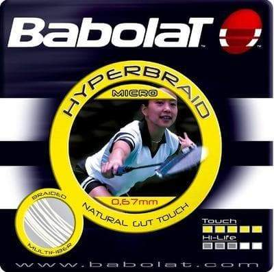 Babolat Hyperbraid Micro Badminton String Set