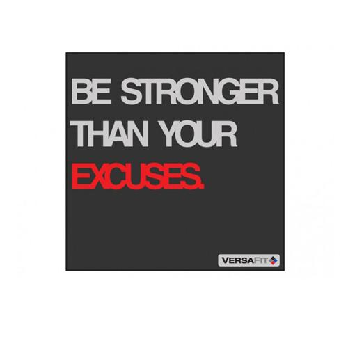 Versafit Be Stronger Than Your Excuses