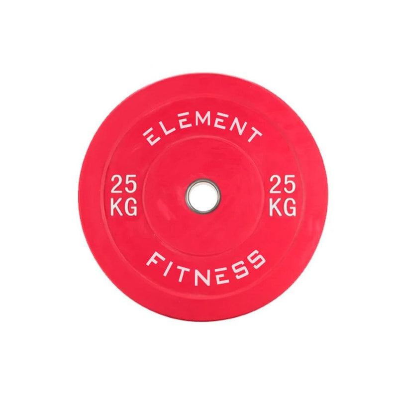 Element Fitness Bumper Plate 5-25kg Set