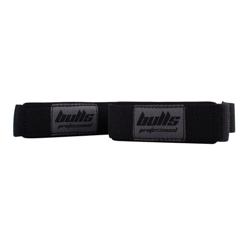 Bulls Professional Lifting Strap Cotton - Black