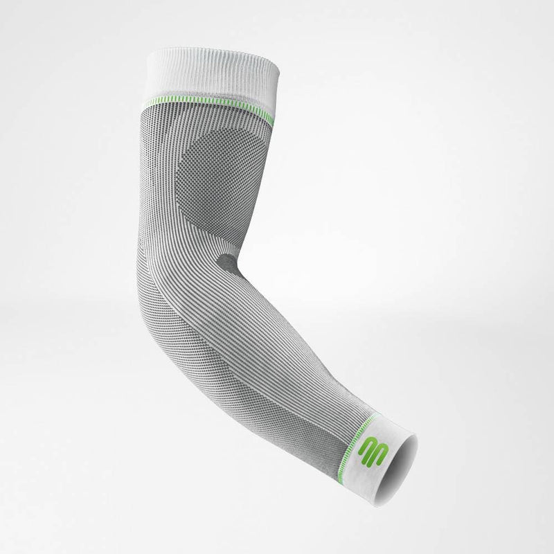 Bauerfeind Compression Sleeves Arm Long - White
