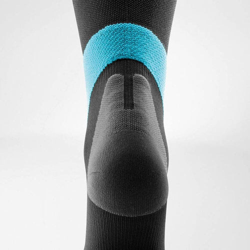 Bauerfeind Compression Socks Ball & Racket 20-30mmHg Long - Hard coal/ Rivera