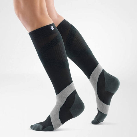 Bauerfeind Compression Socks Ball & Racket 20-30mmHg Long - Hardcoal/Polar