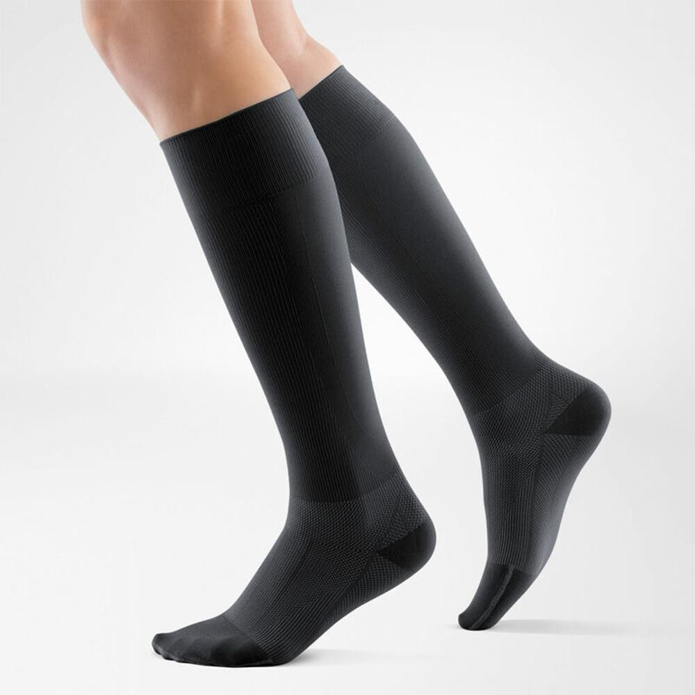 Bauerfeind Compression Socks Run & Walk Long - Black
