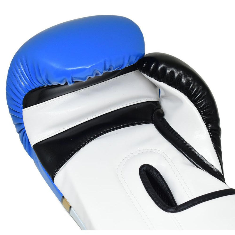 Bulls Professional Classic Boxing Gloves - Blue/White