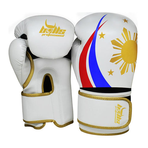 Bulls Professional Classic Boxing Gloves - PH-Themed