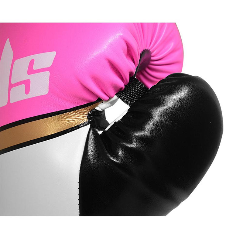 Bulls Professional Classic Boxing Gloves - Pink/White