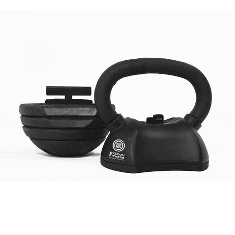 BYZoom Fitness 30lb Adjustable Kettlebell