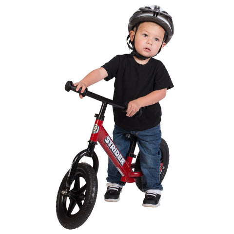 Strider 12 Classic Balance Bike - Red