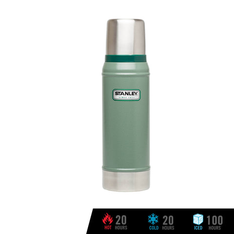 Stanley Classic Vacuum Bottle 25oz / 739mL - Hammertone Green