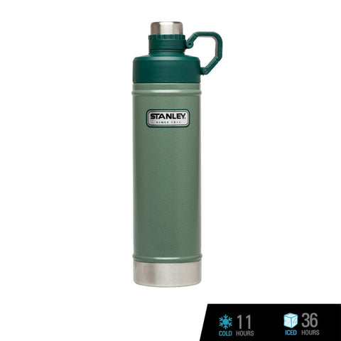 Stanley Classic Vacuum Water Bottle 25oz / 750ml - Hammertone Green