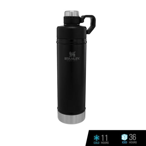 Stanley Classic Vacuum Water Bottle 25oz / 750ml - Matte Black (Stanley x SEA Games)