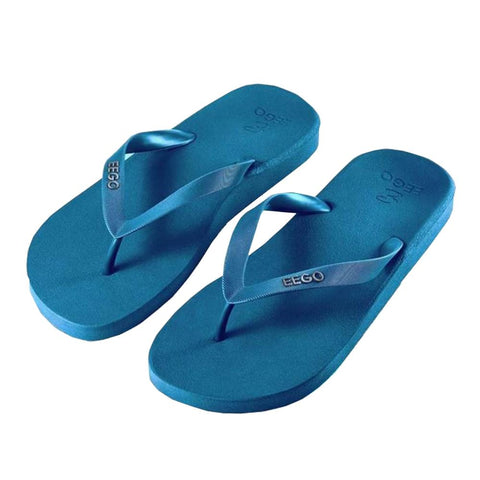 Eego Men's Flip Flops - Teal