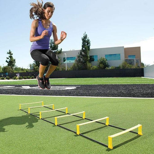 SKLZ Elevation Ladder - 2-in-1 Speed Hurdles + Training Ladder