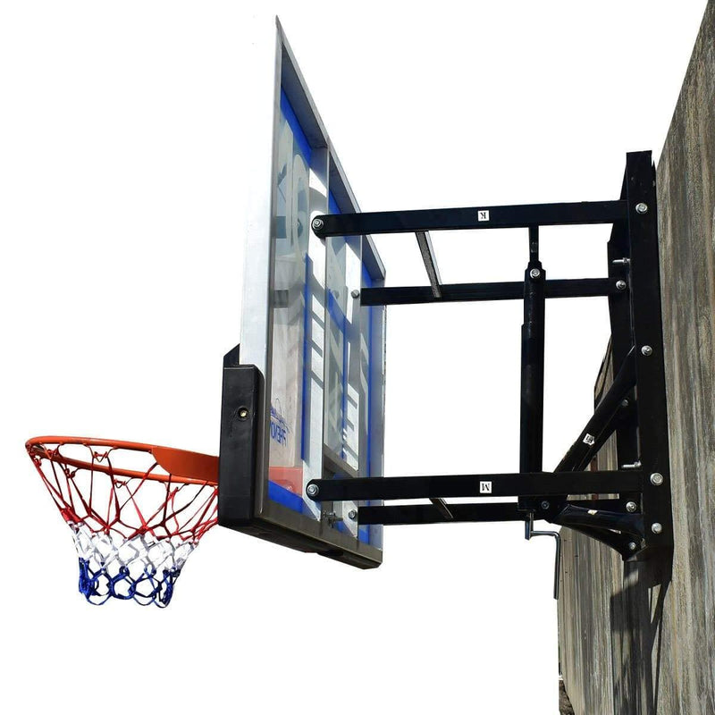 RVNA Elite Wall-Mounted Basketball Hoop System