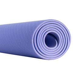 Fitness & Athletics Premium Yoga Mat - Purple/Light-Purple