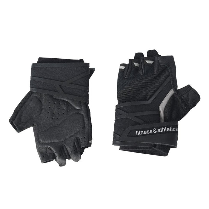 Fitness and Athletics Wrist Wrapped Gloves