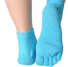 Fitness & Athletics Yoga Grip Socks - Turquoise