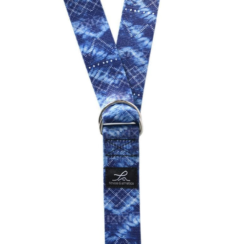 Fitness & Athletics Yoga Strap - Sapphire Blue