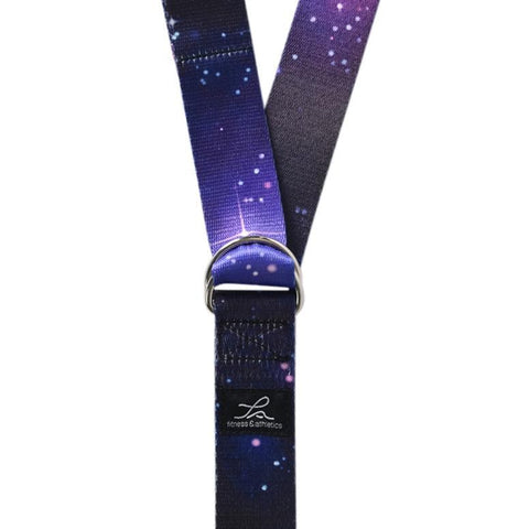 Fitness & Athletics Yoga Strap - Starry Night