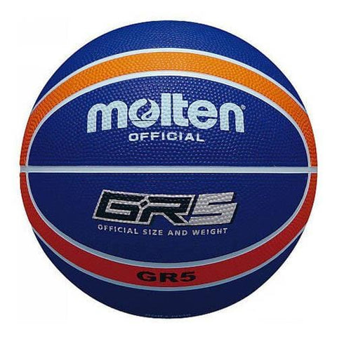 Molten Basketball GR5 (Navy Blue/Orange)