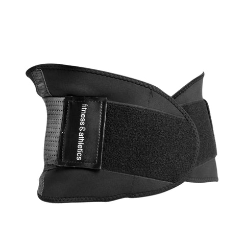 Fitness & Athletics Waist Shaper - Black/Gray