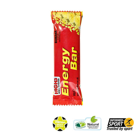 HIGH5 Energy Bar 60g - Banana