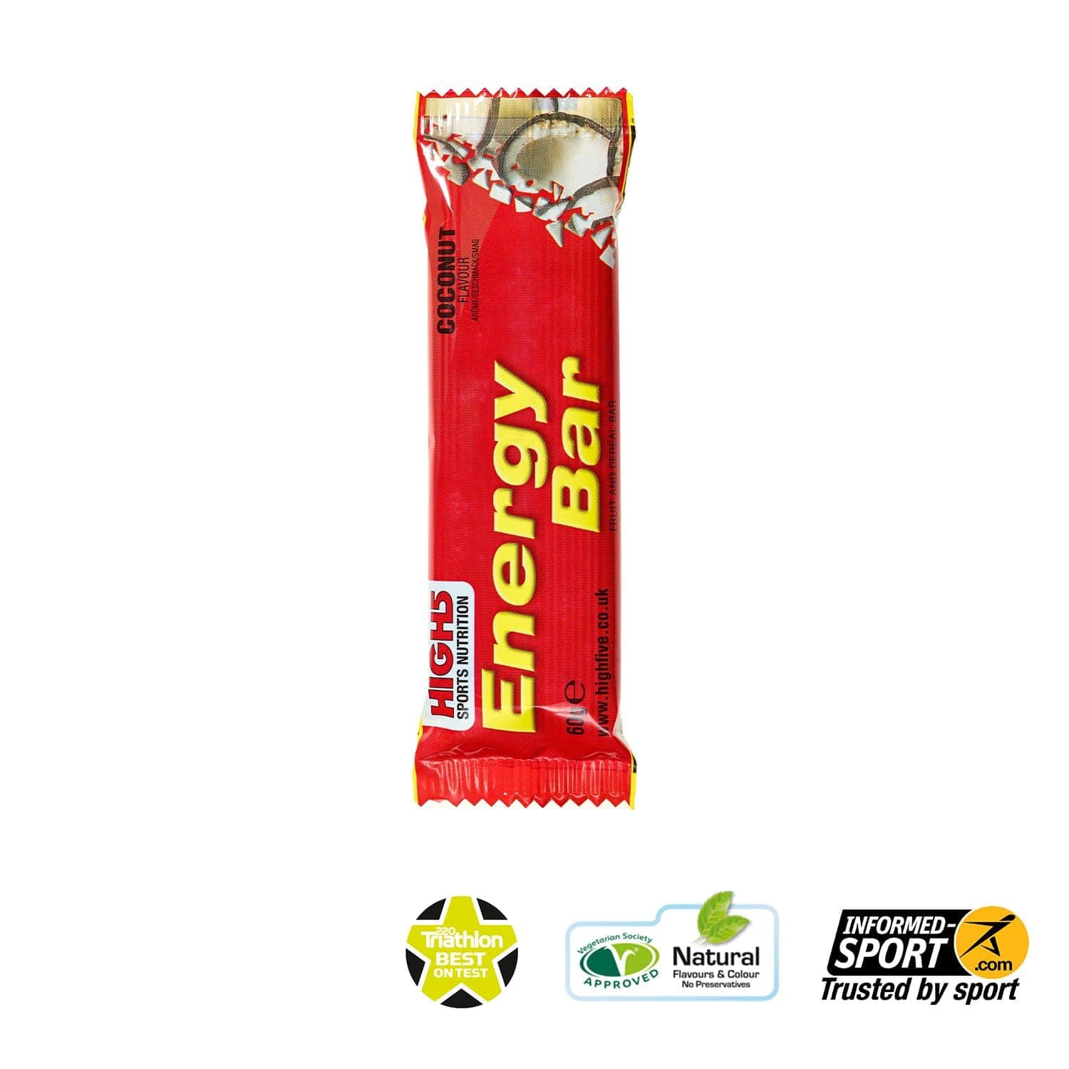 HIGH5 Energy Bar 60g - Coconut