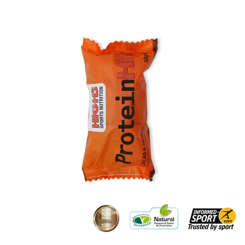 HIGH5 Protein Hit 50g - Cacao & Orange