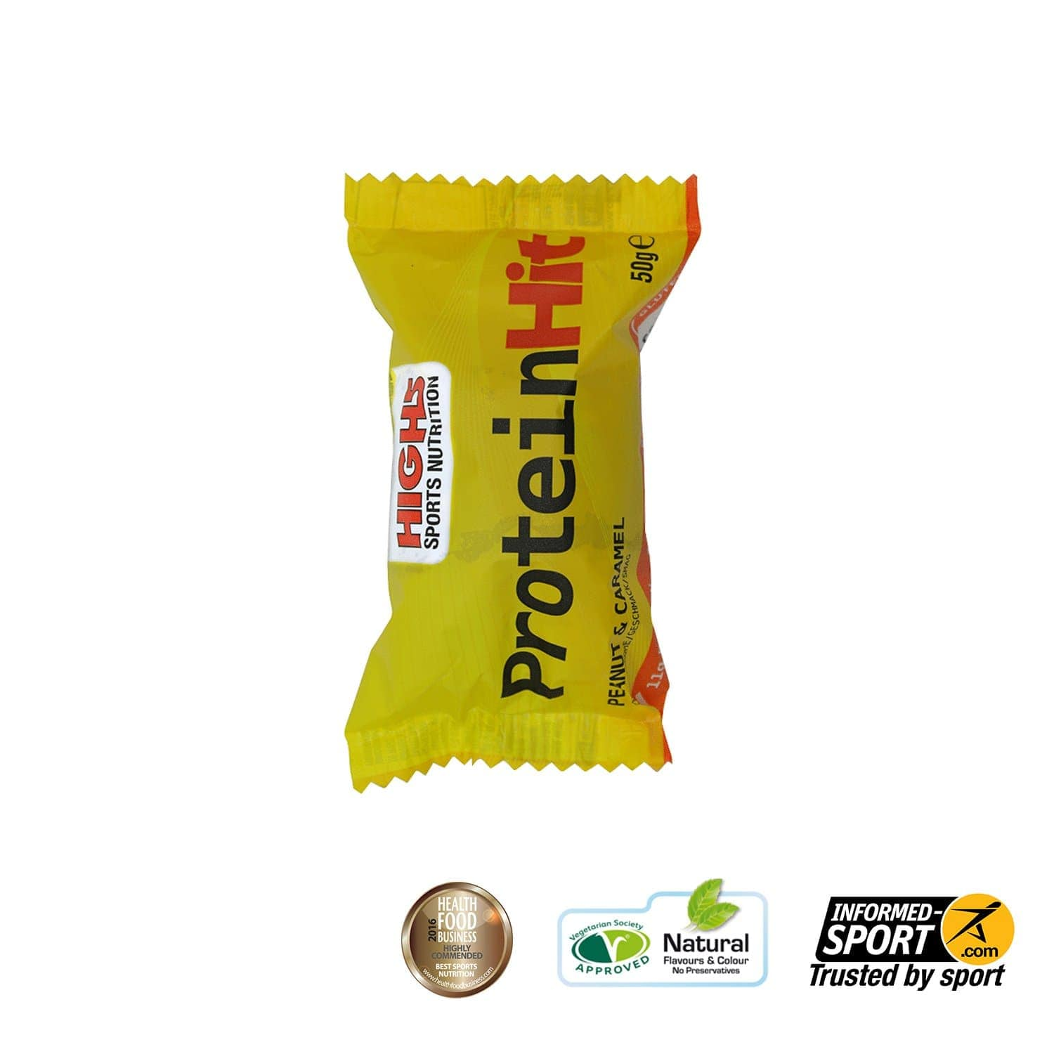 HIGH5 Protein Hit 50g - Peanut Caramel