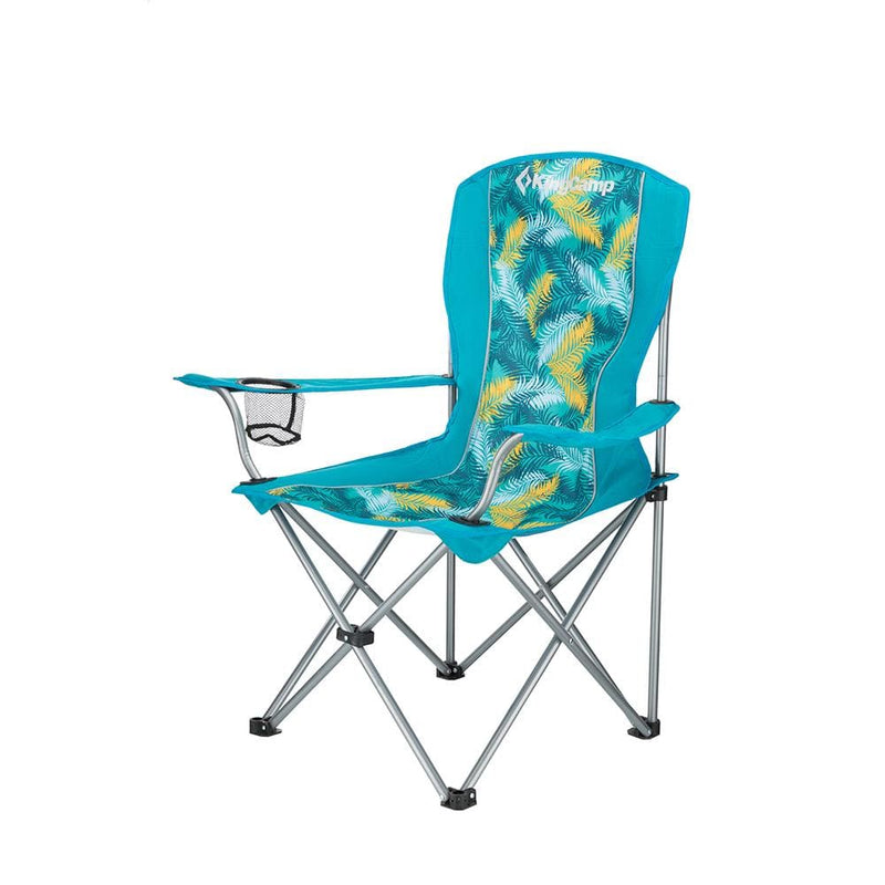 KingCamp Arm Chair in Steel - Palm Green