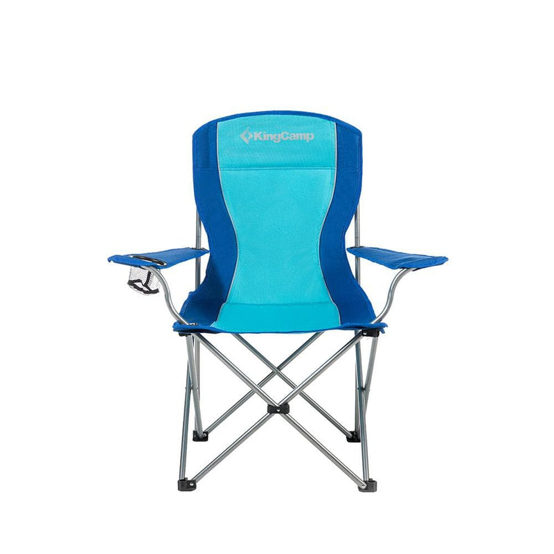 KingCamp Arm Chair in Steel - Blue