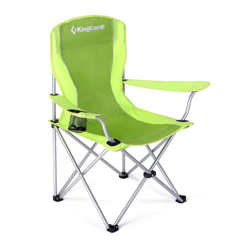 KingCamp Arm Chair in Steel - Green