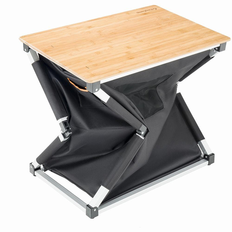 KingCamp Bamboo Cooking Table - Black