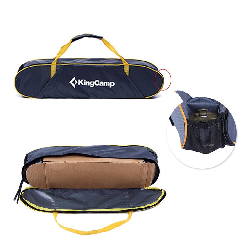 KingCamp Compass Outdoor Car Canopy Tent - Navy