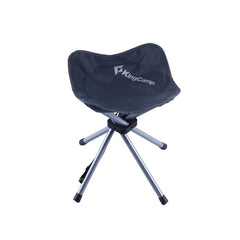 KingCamp Four Legs Stool 4 - Dark Gray