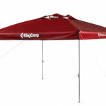 KingCamp Instant Multipurpose Outdoor Canopy Tent Large - Red